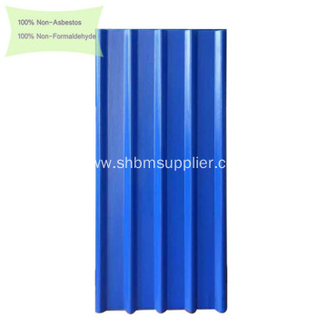 Long-Span Heat-Insulation Fireproof MgO Roofing Sheets
