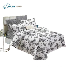 One of Hottest for Cotton Bedding Set Wholesale 100% Polyester Luxury Home Bedding Set supply to Russian Federation Manufacturer