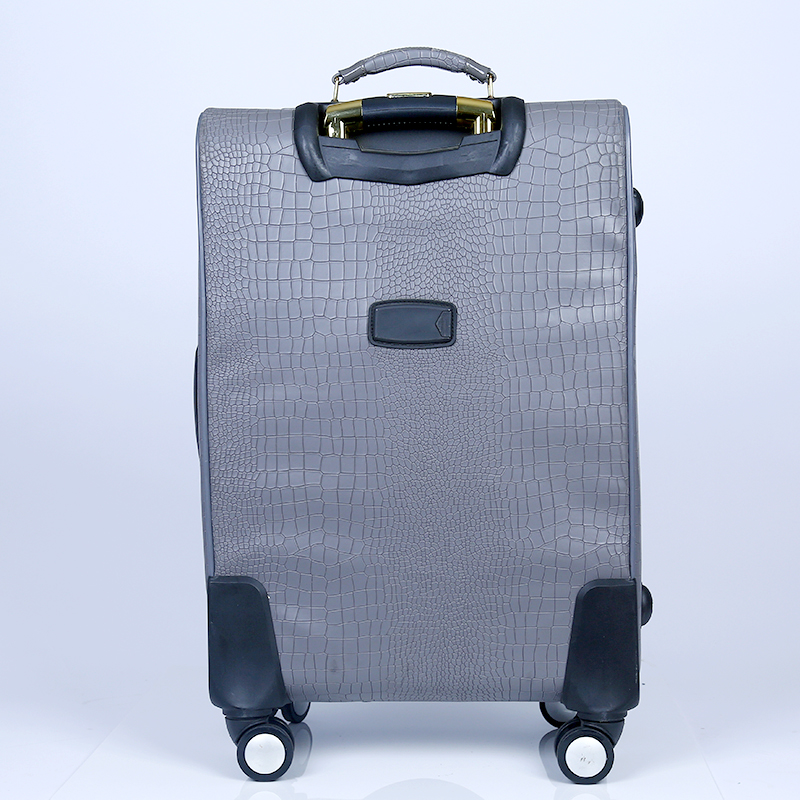 Continental expandable PU luggage