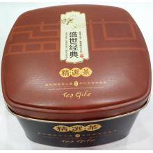 Good Quality for Tea Tin Box,Health Tea Tin Can,Metal Tea Tin Can Manufacturers and Suppliers in China custom printed Tea package Tin Box supply to Russian Federation Factories
