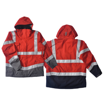 professional factory for 3M Reflective Jacket High visibility 3 in 1 outdoor jacket supply to Kiribati Importers