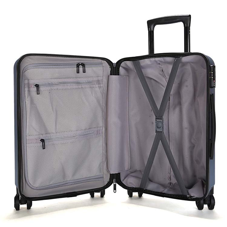 ABS carry-on plastic airport trolley luggage 6