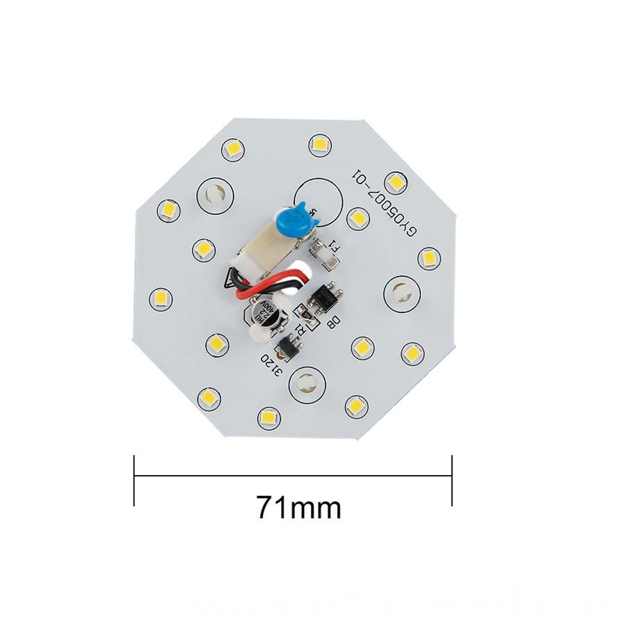 AC SMD 2835 led bulb dob module CE certified