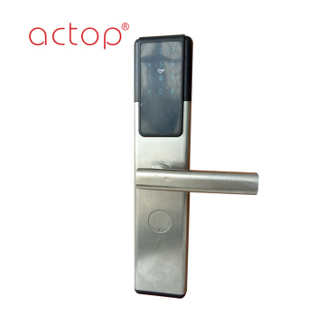 Hotel stainless Steel Safety Automatic Smart Door Lock