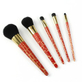 5pcs kabuki makeup brushes set