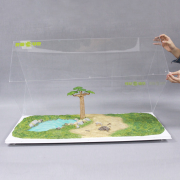 Apex customised design 3D vision acrylic world map
