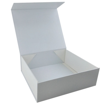 Simple Luxury Wedding Folding Gift Paper Box