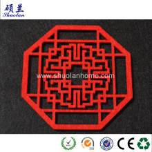 Supply for Wool Felt Coaster Chinese paper cutting by felt export to United States Wholesale