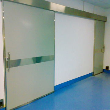 Hospital quick action automatic door