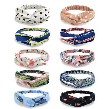 YouGa Vintage Headbands Women Elastic Headbands 10/6/4 Pack