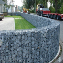 Galvanized/ Galfan/ PVC Coated Welded Gabions Retaining Wall