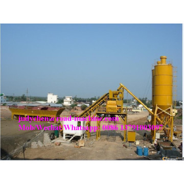HZS25 concrete mixing station with productivity 25m3/h