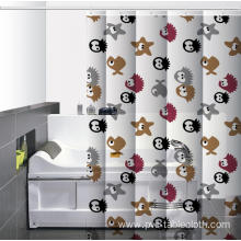 Waterproof Bathroom printed Shower Curtain Beach