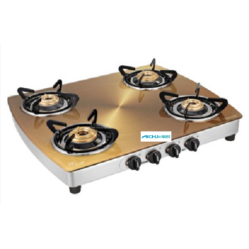 Sunflame Gold Glass Top Gas Cooktop