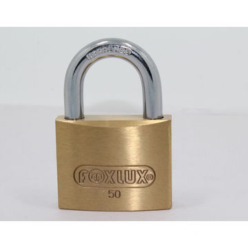 China for Hammer Brass Padlock 50mm Thick Brass Padlock Brass Cylinder supply to French Polynesia Suppliers