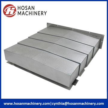 High Temperature Machine Slideway Protective Bellows Shield