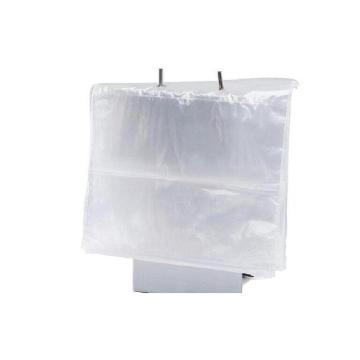Transparent Poly Saddle Bags