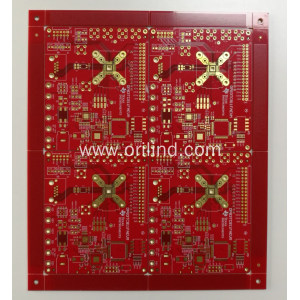 FR4 immersion gold binding board