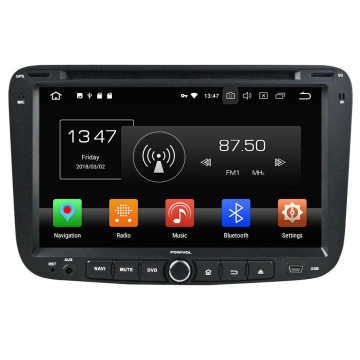in dash car dvd player for EC7 2012 with DSP CAR PLAY