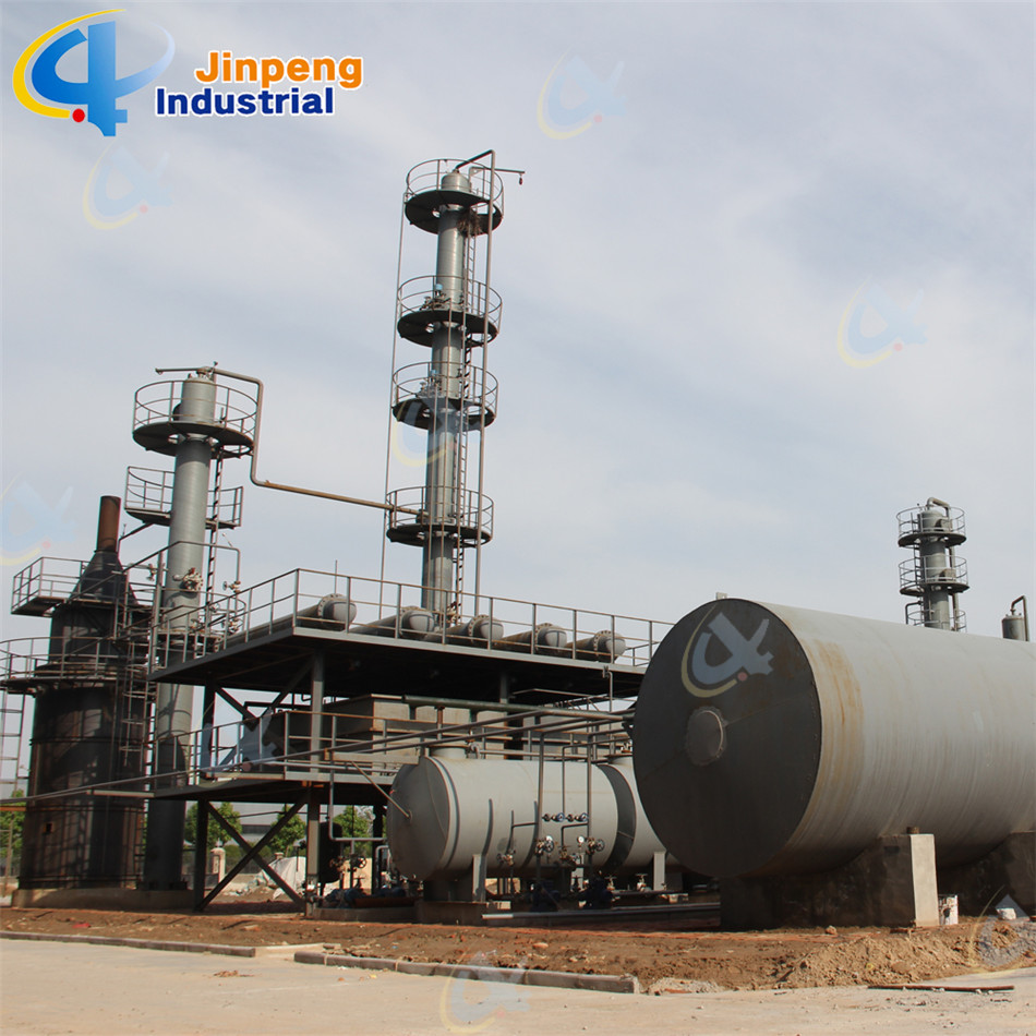 Waste Lub Oil Refinery Machine