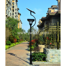 Solar Energy Integrated Square Garden LED Street Lamp
