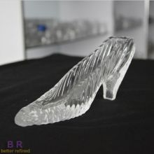 Unique Gift Ideas Crystal Shoe Weddings Parties Ornament
