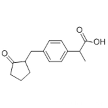 Benzeneacetic acid, a-methyl-4-[(2-oxocyclopentyl)methyl] CAS 68767-14-6
