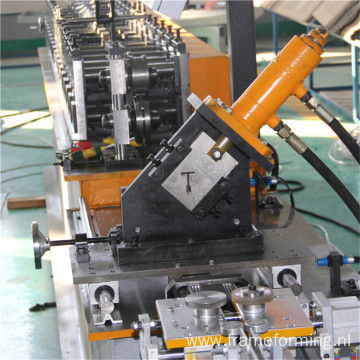 ceiling steel Tee grid roll forming machine