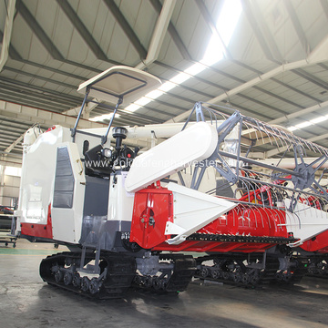 Mini 98hp  Rice Combine Cutting Machine