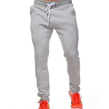 Men's Durable Woven Twill Cotton Sports Pants