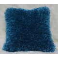 Polyester Shaggy Mix Yarn Cushion