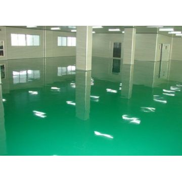 Self-leveling floor material epoxy floor