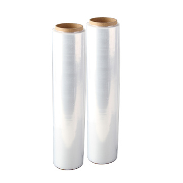 clear pe plastic stretch moving wrap