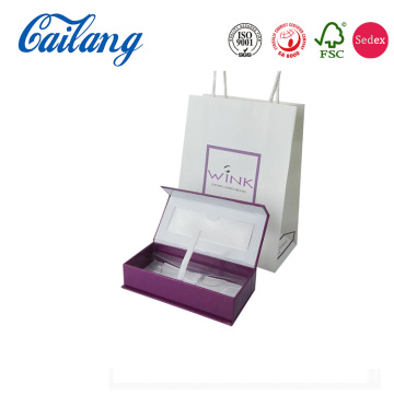 French Perfume Box With Foil Logo