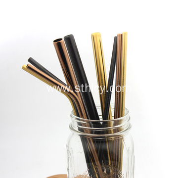 Durable Bar Drinking Stainless Steel Straws