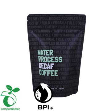 Food grade resealable Stand Up Pouch for coffee bean