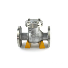 double flange ptfe body 4 inch cast iron check valve 16mm