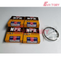 MITSUBISHI engine parts piston 4DR5 piston ring