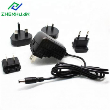 9V / 1A / 9W Multi AC Plug Power Adaputer for Global