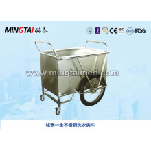 Stainless steel laundry car