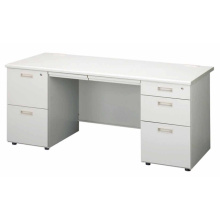 10 Years manufacturer for Classic Wooden Office Desk Steel Office Classic Desk With Two Cabinet export to Sri Lanka Wholesale