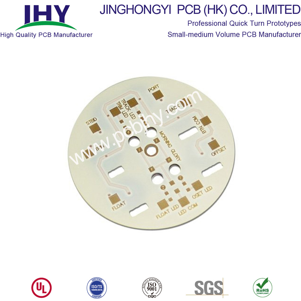 Single Layer LED PCB Round Bulb