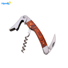 Good Quality for China Wine Bottle Opener,Wooden Handle Corkscrew,Corkscrew Bottle Opener Supplier High Quality Wooden Handle Wine Opener Corkscrew export to France Manufacturers