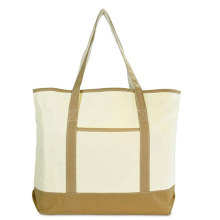 Extra Large Travel Foldable Cotton Tote Bag