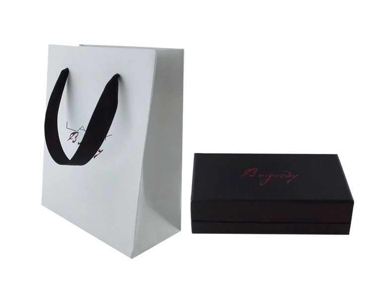 Custom Hair Extensions Packaging Bag with Ribbon Handles