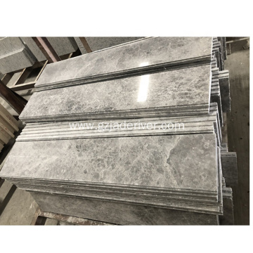 Tundra Grey Marble Flooring Skirting Frame Window