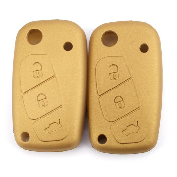 Soft Silicone Fiat Key Cover For Car
