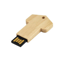 Wooden Key usb stick with custom Logo
