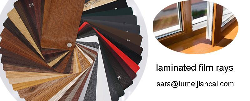 pvc laminated for windows