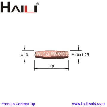Fronius Welding Contact Tips M10x40mm for AL4000
